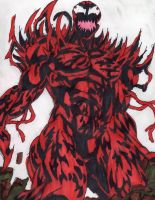 Carnage With Spikes by ChahlesXavier