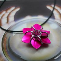 New Scale Flower Pendants by Utopia-Armoury