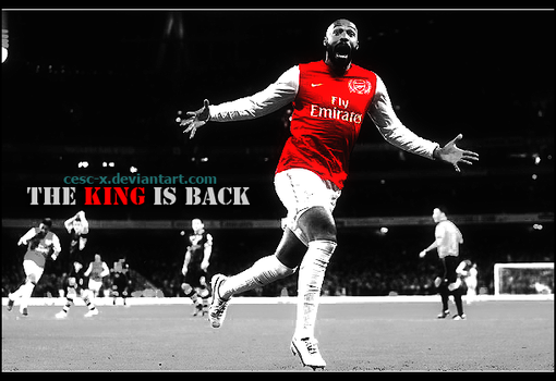The King is Back by Cesc-X