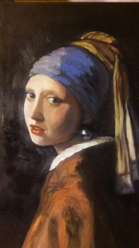 Girl with A Pearl Earring by jamied4343