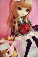 Girl in Valentine day by mydollshouse