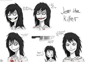 Jeff the Killer (concept art) by Inkswell