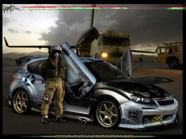 Subaru Impreza US Army by Flameks