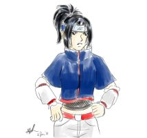 Female Sasuke by sharem