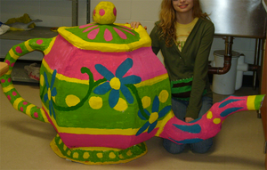 Giant Frikkin' Teapot by ghlow