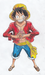 Monkey D Luffy- 2 years later... by Disproven-existence