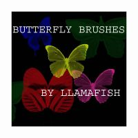 Butterfly Brushes by llamafish