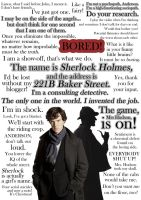 Sherlock Holmes- Quotes by Dogtorwho
