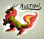 CHARACTER AUCTION: Flame Lion Kirin by BriMercedes
