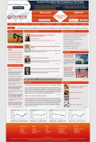 Oil price web design by nabeel91