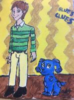 Blue's Clues Painting by doctorwhooves253
