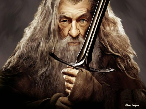 gandalf by akinyalcin