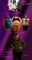 BBW Jessica's Progression by whateva09
