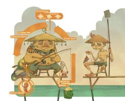 Successful Fisherman by raps0n