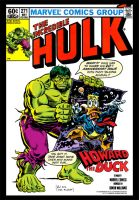 Incredible Hulk and Howard the Duck by Simon-Williams-Art