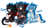 MC: Chibis by TragedyStreet