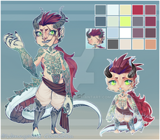 [CLOSED] Dragon Auction Adopt by WanNyan