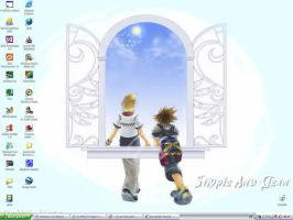 KH2-Simple And Clean by neko-no-hi