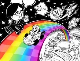 Thank You Iwata- On Rainbow Roads by Hakuramen