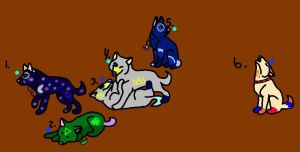 Winter SolsticeXWicca Pups by rtsbts