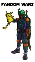 Boba Fett must catch 'em all by Art-Minion-Andrew0