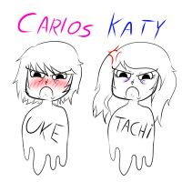 Carlos y Katy by YukariMegpoid