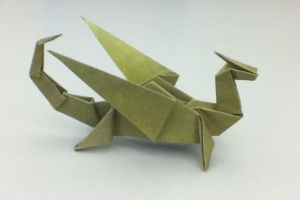 Origami Dragon by shawk77
