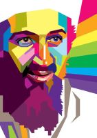 Osama in WPAP by wedhahai