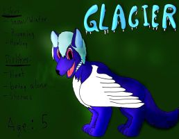 Glacier reference by TheLupinearRider