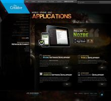 Clowcreative Apps Page by naseemhaider