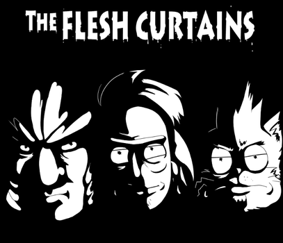 Flesh Curtains by macadoodledoo