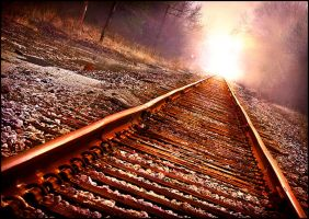 Train Tracks to Hell by blinkrock421