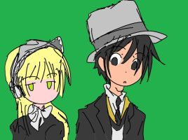 Gosick drawing 2 on Tablet by mimidan