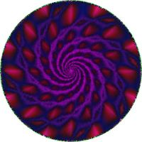 Psychedelic spiral by etiark