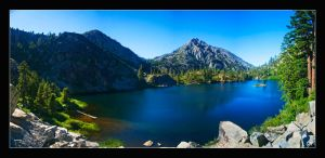 Eagle Lake Pano by dehrique