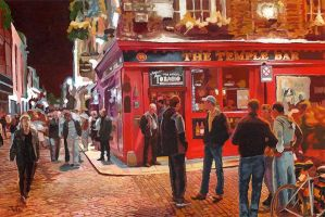 Dublin Temple Bar by valaren