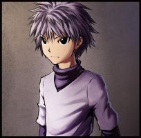 Killua fan art by DaniDL
