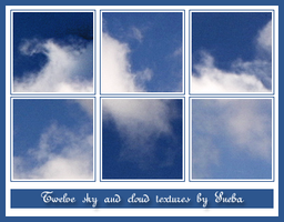 Sky and cloud textures by mystique87