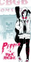 Pepper is a Punkrockker by PepperProject