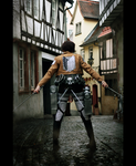 Shingeki No Kyojin - Eren Jeager Cosplay. by TessaCrownster