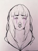 Tearful Hinata by Ly-s