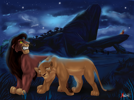 Simba: -My verdict - exile ! by Diego32Tiger