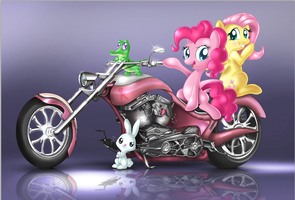 Ride For The Cure by NubianKitten