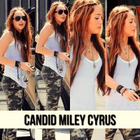 Candid Miley Cyrus by gukialien
