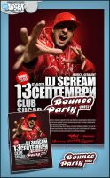 Dj Scream poster by szc