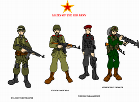 Allies of the Red Army by AlexeiKazansky