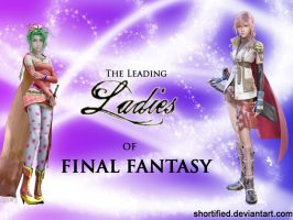 Leading Ladies of FF Wallpaper by Shortified