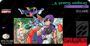 Dragon Quest V localized label by vladictivo