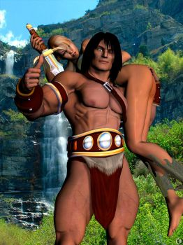 CONAN THE CHAUVINIST by lordcoyote