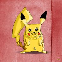 Pikachus Granny by theblastedfrench